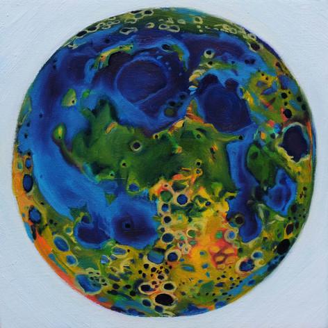 Moon Topography