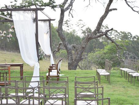 Vantagens de realizar a cerimônia e a festa de casamento no mesmo lugar