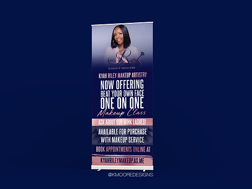 Retractable Banner (Design Only)