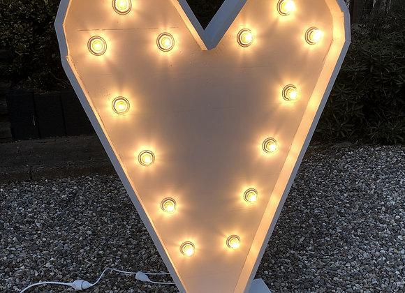 Coeur Géant lumineux