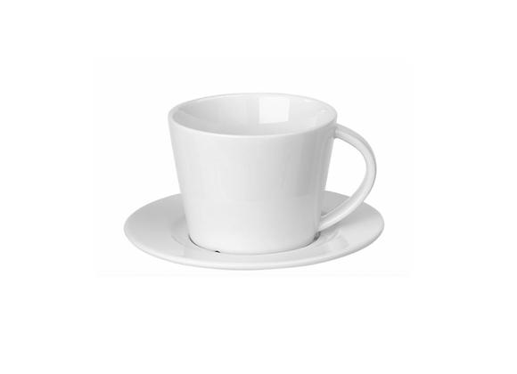 Tasse à café et coupelle