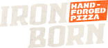Iron Born Pizza Logo