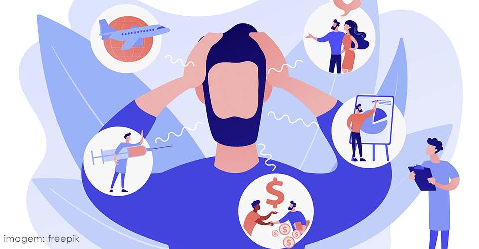Nervosismo: sintomas físicos, psicológicos e comportamentais