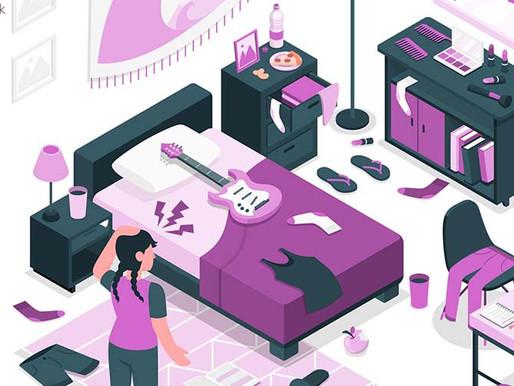 Desorganização: estratégias para se livrar da bagunça sem se estressar