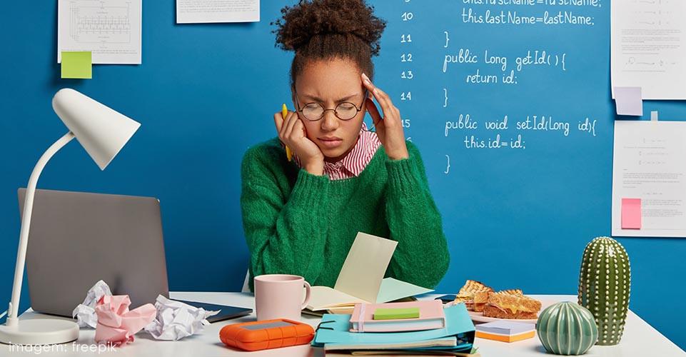 esgotamento profissional e estresse no trabalho