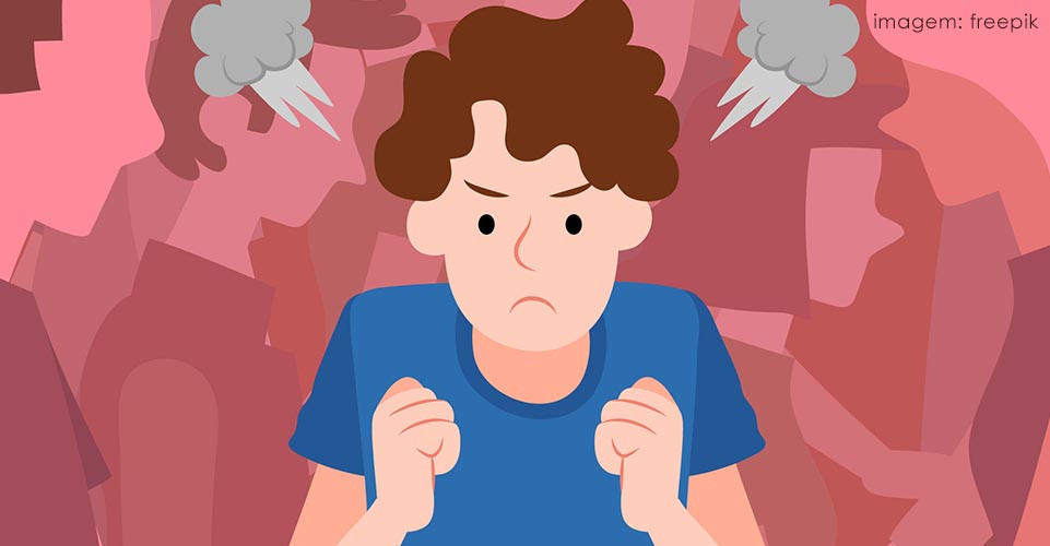 Raiva e agitação podem desencadear crises nervosas.
