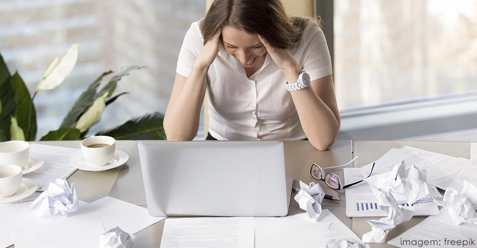 desorganização emocional e estresse