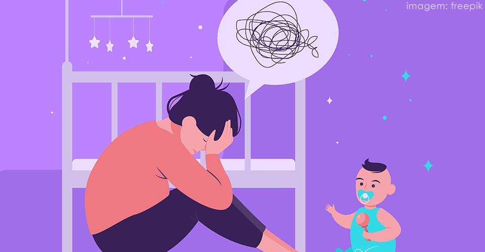 sintomas de depressão pós-parto