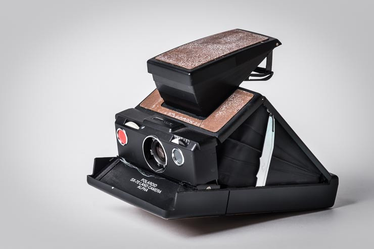 Schnee von gestern: meine Polaroid SX-70 Land Camera