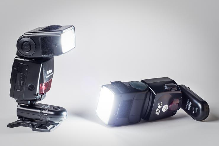entfesselt blitzen: Nikon SB 80DX und SB 800 mit dem günstigen Yongnuo-Fernauslöser