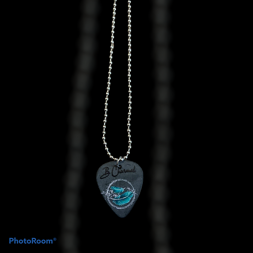 Guitar Pick Necklace with Chain