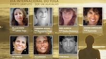 International Yoga Day em Ilhabela Brasil