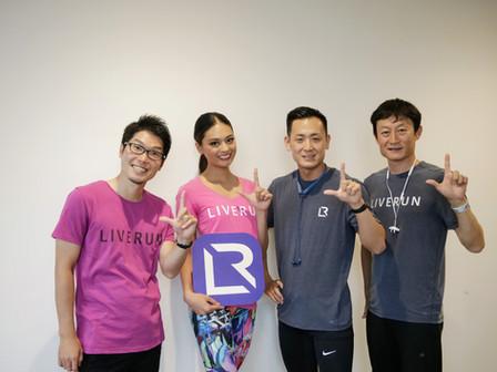 2018 ミス ユニバース ジャパンの加藤遊海さんと、第2回チャレンジドラン&ウォークを開催しました。