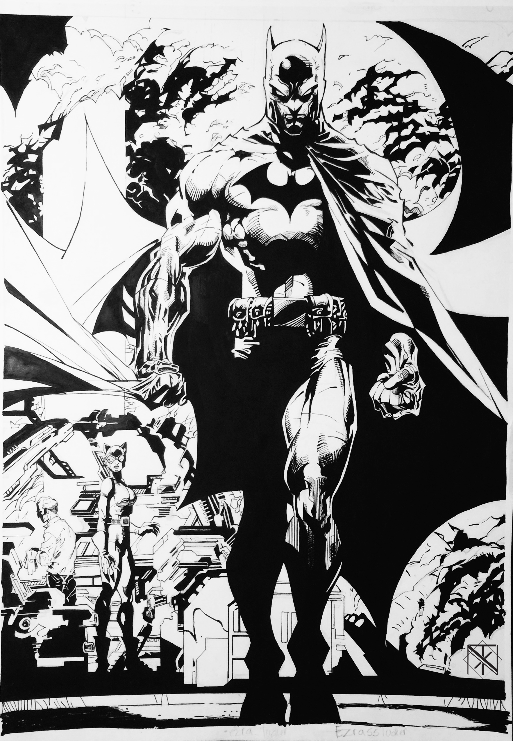 Bat Man Jim Lee Master Copy copy