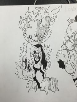 Hell Kid Sketch