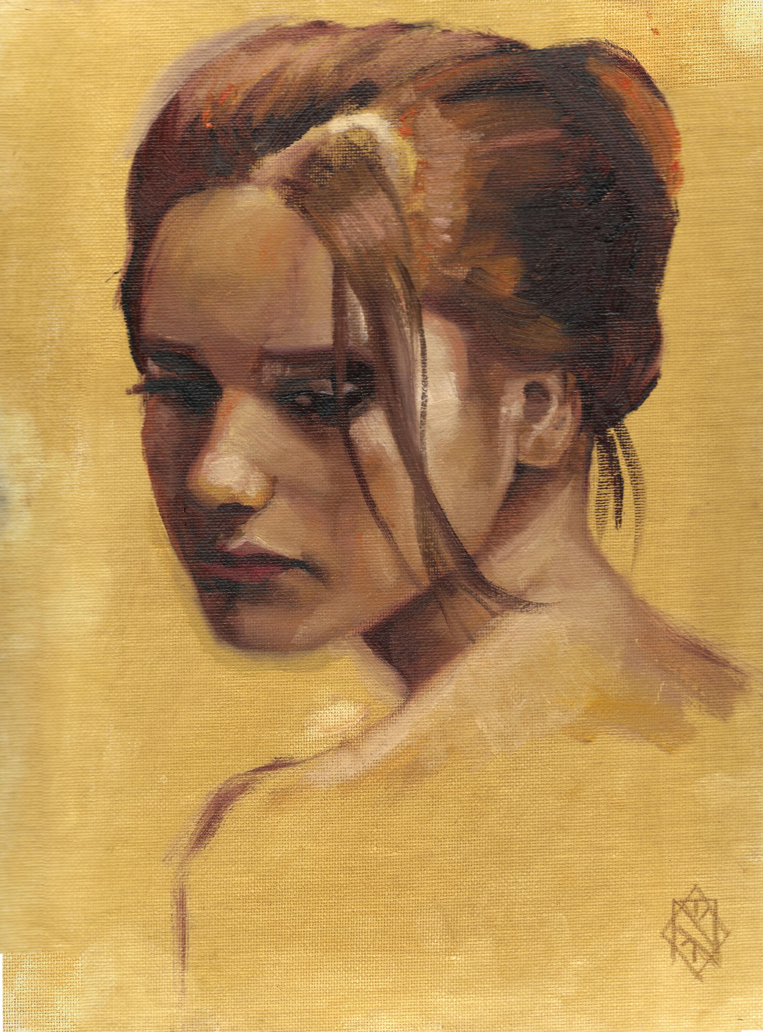 soft redhead portrait