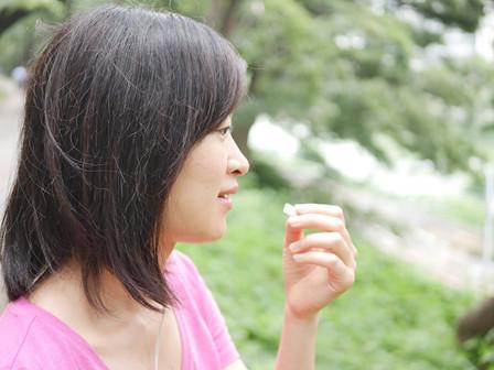 ガムを噛むことによる、身体における嬉しい効果