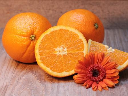 オレンジ色の効果