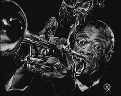 Louis Armstrong (SOLD)
