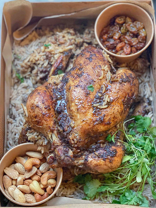 Djaj Mahshi - Fylld Kyckling