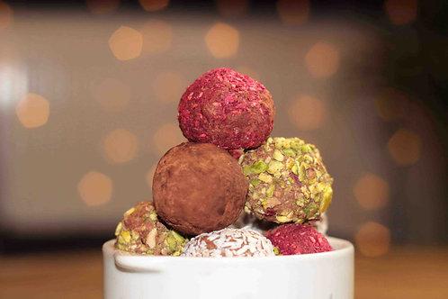 8 st Choklad bollar