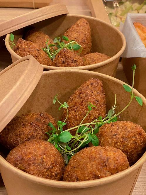 5 st Kubbeh - Friterade bulgurbollar