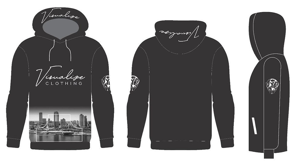 """Visualize """"City View"""" Hoodie"""