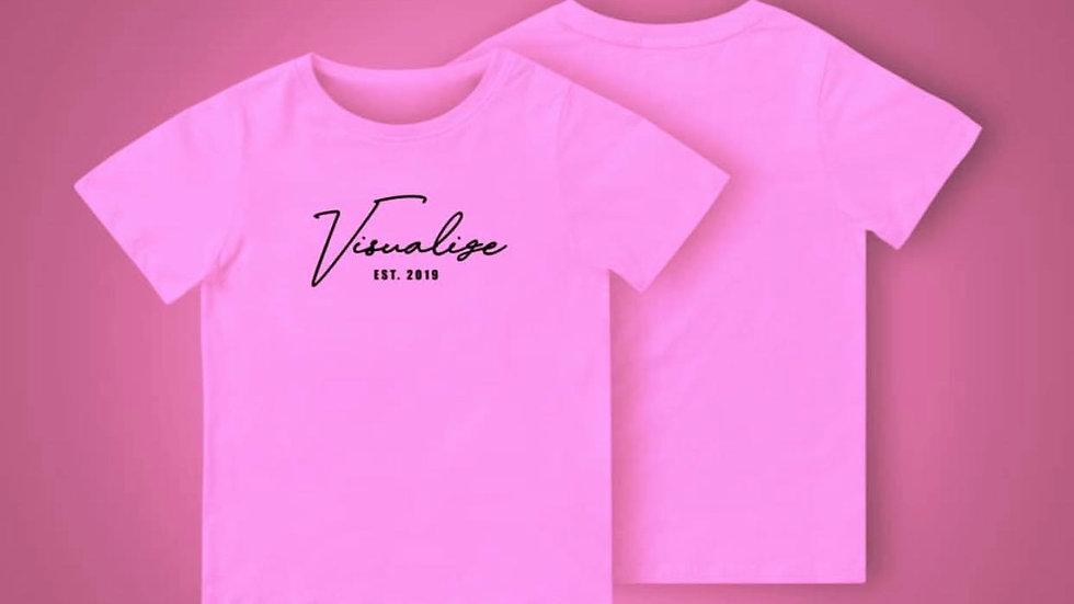 "Pink ""Est 19"" T Shirt"