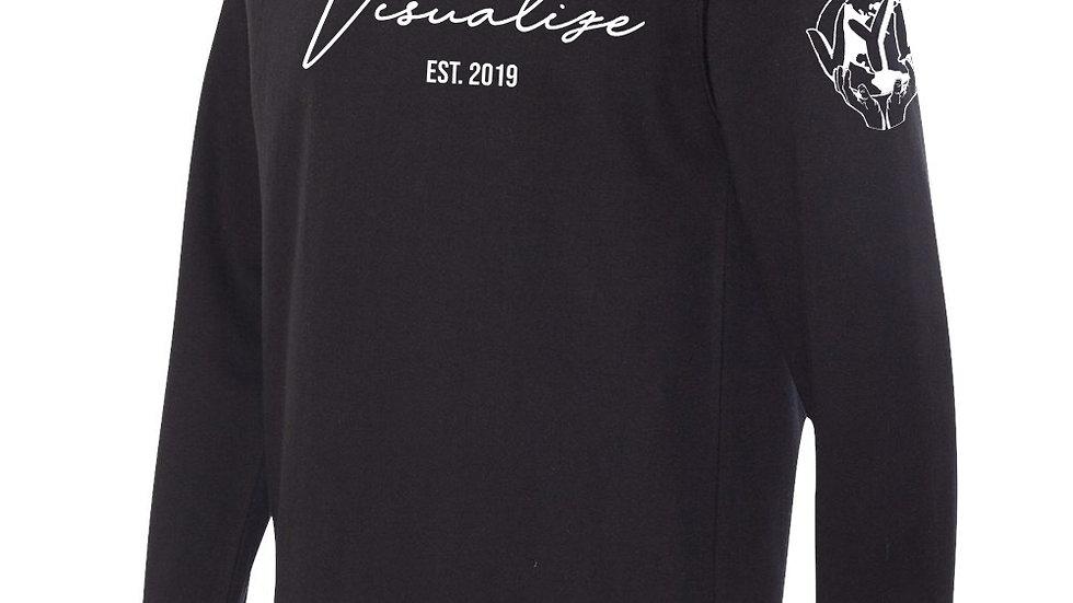"""Black """"Est 19"""" Sweatshirt"""