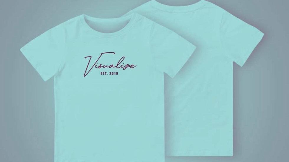 """Pastel Blue """"Est 19"""" T Shirt"""