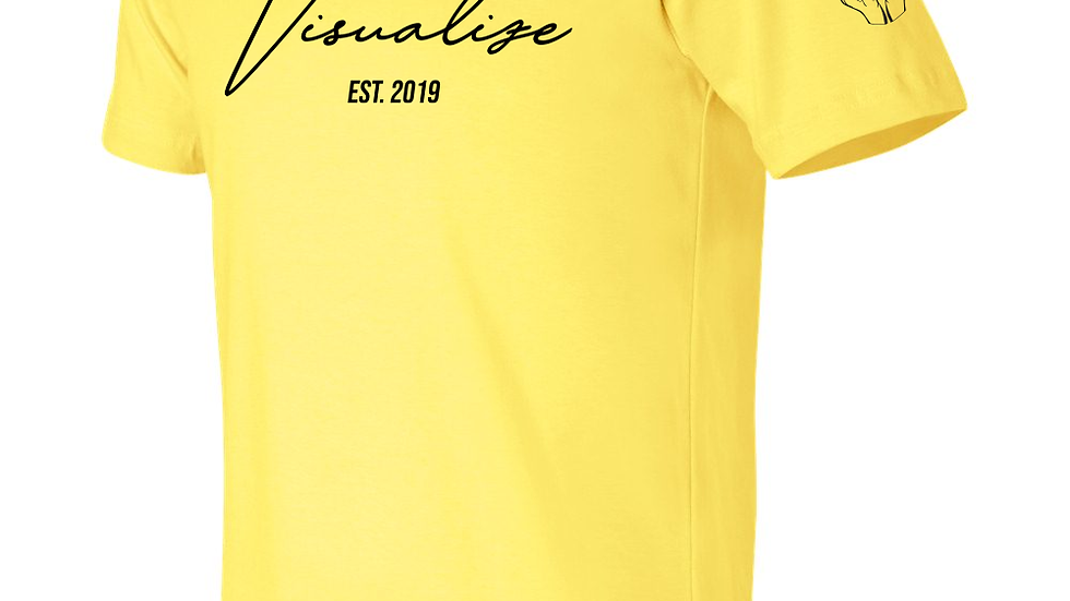 "Yellow ""Est 19"" T Shirt"