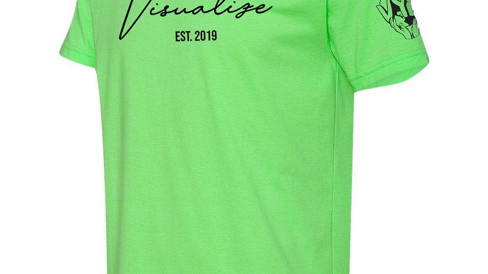 """Neon Green """"Est 19"""" T Shirt"""