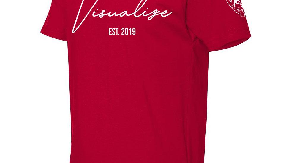 "Red ""Est 19"" T Shirt"