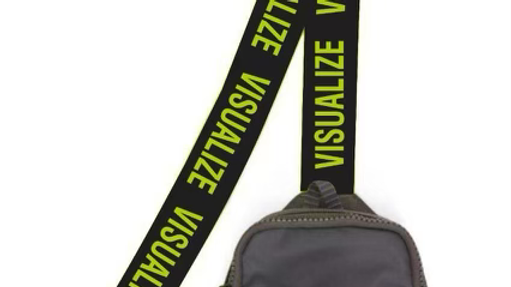 """Visualize """"Neon Green"""" Fanny Pack"""
