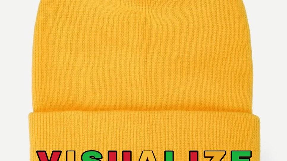 """Yellow """"Empowerment"""" Hat"""