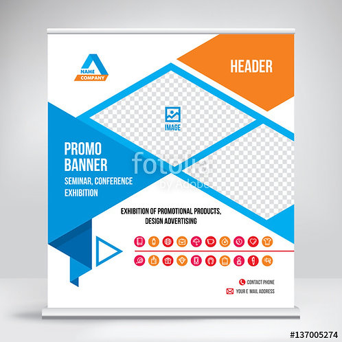 Extra Wide Pull-Up Exhibition Banner 2400mm (w)