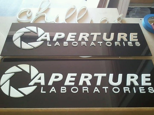 4.5mm White Acrylic signs
