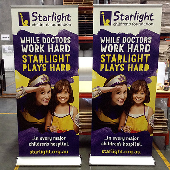 Pull up banner / Roll up Banner (with Printing)  Deluxe
