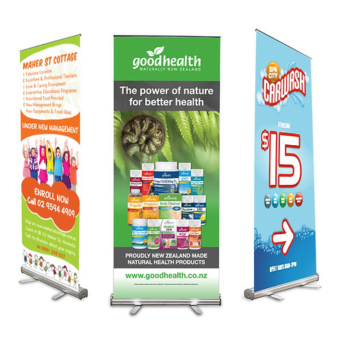 Pull up banner / Roll up Banner (with Printing)  Premium