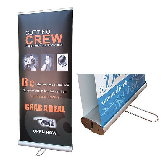 Doubleside Pull up banner / Roll up Banner (with Printing)  Premium
