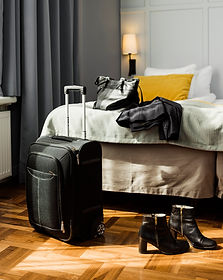 Luggage and Woman's Stuff