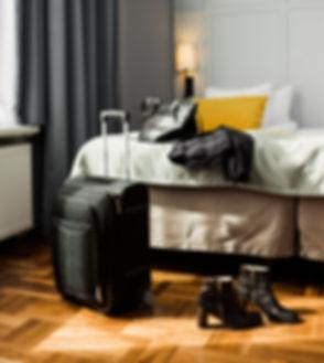 Luggage and Woman's Stuff