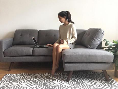 Un look minimaliste pour mon salon