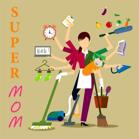 Je ne suis pas ''super mom''