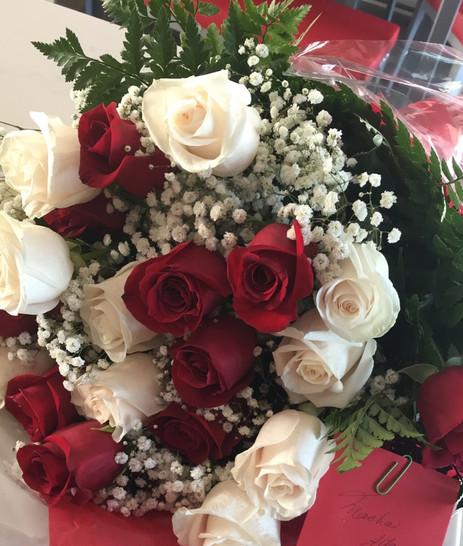 Des roses? Euh non merci!