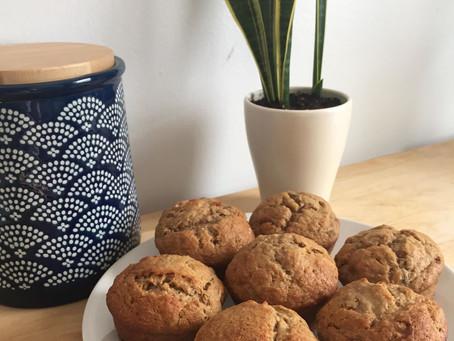 Allô les meilleurs muffins aux bananes au monde!