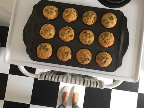 Muffin à la citrouille
