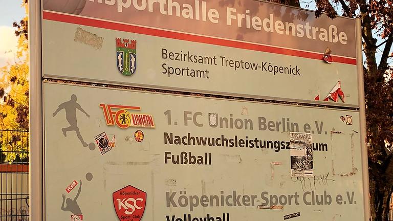 Besuch an der alten Försterei zum Leistungsvergleich beim 1.FC Union Berlin