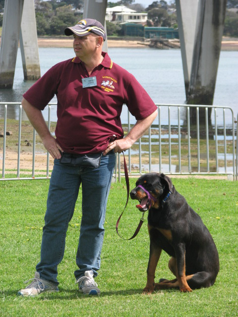 Pet Expo San Remo 2009 Paul & Buddy