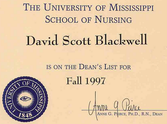 Academic Dean's List